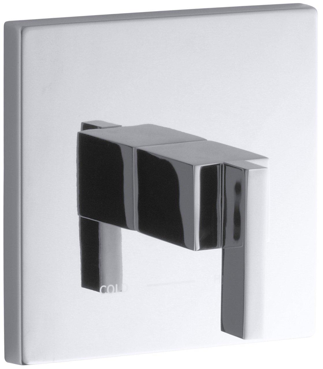 KOHLER K-T14672-4-CP Loure Thermostatic Valve Trim, Polished Chrome good