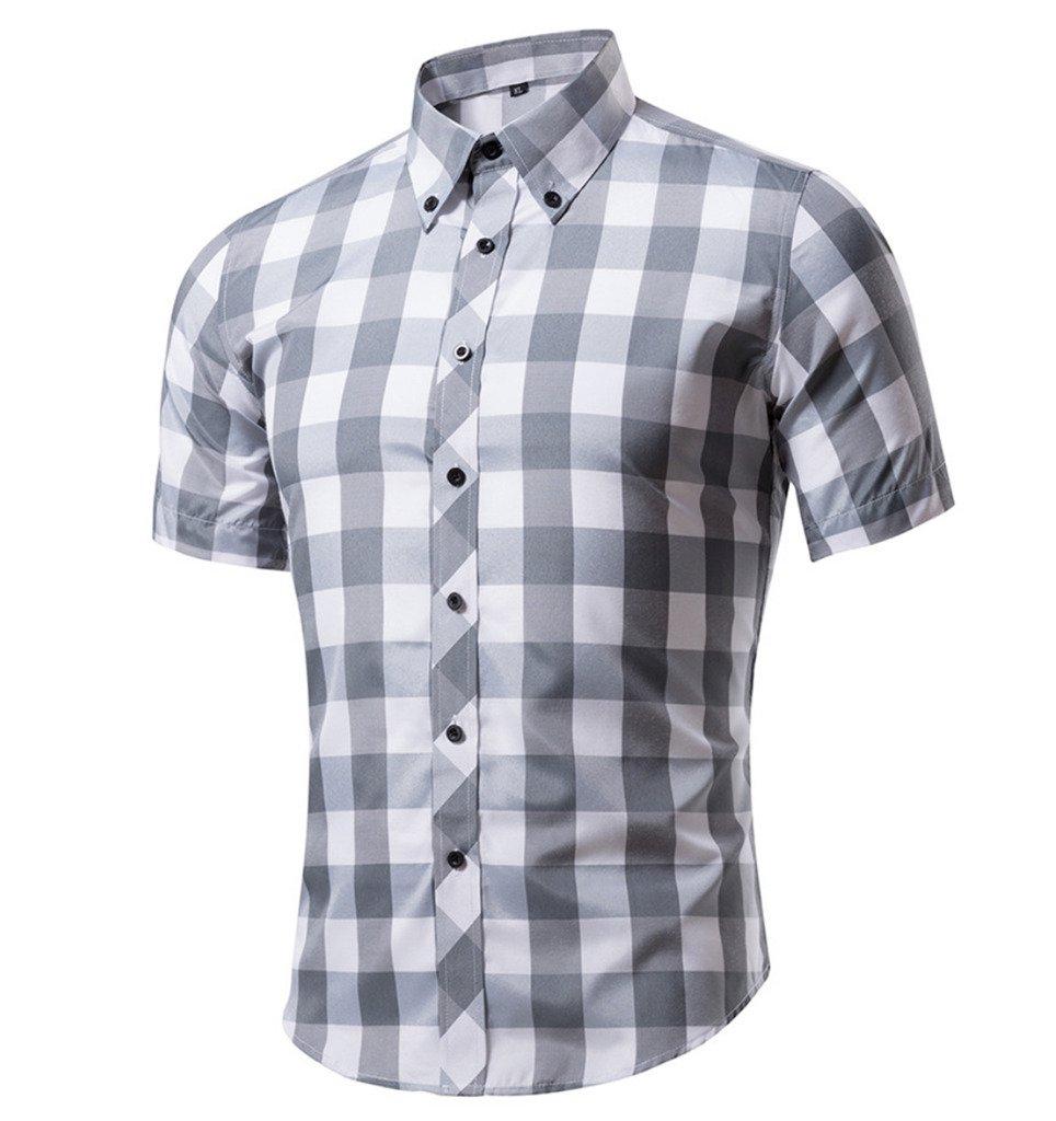 Elonglin APPAREL メンズ B0735B8SGB M|Checkered N°21 Checkered N°21 M