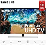 Samsung UN65NU8000 65 Class NU8000 Premium Smart 4K Ultra HD TV (2018) (UN65NU8000FXZA) with 1 Year Extended Warranty UN65NU8000 65NU8000