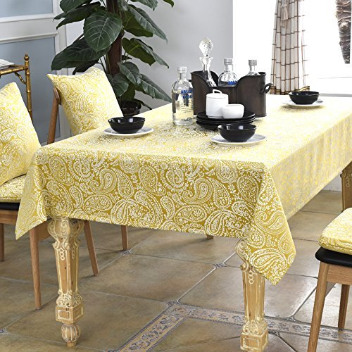 HOMEE Cloth art simple rectangular table cloth Christmas decorations,B,90X90cm by HOMEE
