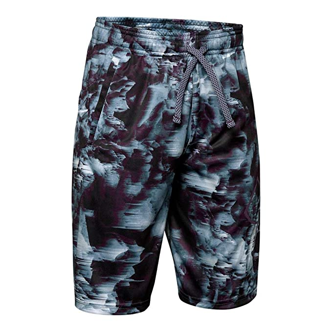 c1aa56f57a Amazon.com: Under Armour Boys' Renegade 2.0 Printed Shorts: Clothing
