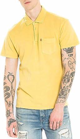 Polo Levis Sunset Misted XL Amarillo: Amazon.es: Ropa y accesorios