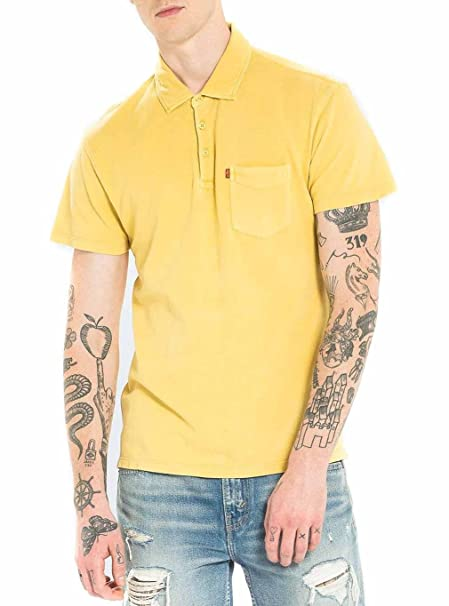 Polo Levis Sunset Misted XL Amarillo: Amazon.es: Ropa y accesorios