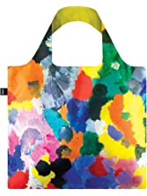 LOQI EN.IG Museum Ernst Wilhem Nay's Irisches Gedicht Reusabe Grocery Bags, Multicolored