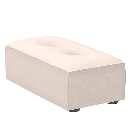 Marca Amazon - Alkove Elvas - Reposapiés bajo para sofá modular, 48 x 93 cm, beige