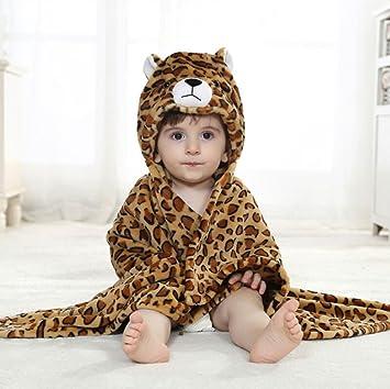 Amazon.com : Luk Oil Autumn and Winter Warm Flannel Children\'s Bath ...