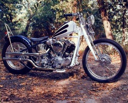 Harley Davidson Knucklehead Custom Vintage Motorcycle Bike Wall Decor Art Print Poster