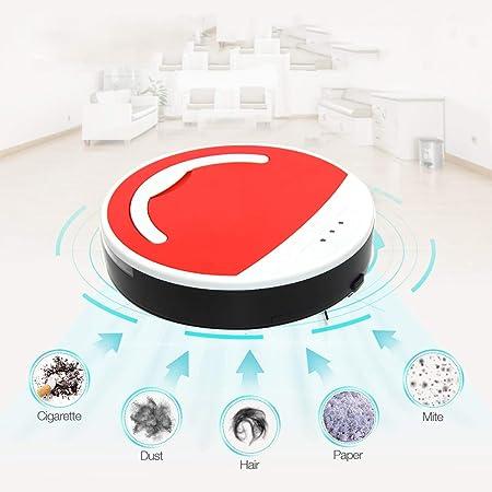 Vinteky®Robot aspirador y Limpieza de Suelos Alto rendimiento de limpieza Programable Limpia varias habitaciones