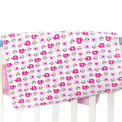 ZEAMO Baby & Toddler Waterproof Bamboo Fiber Flannel Washable Diaper Changing Mat Pad for Baby Cribs,stroller (20