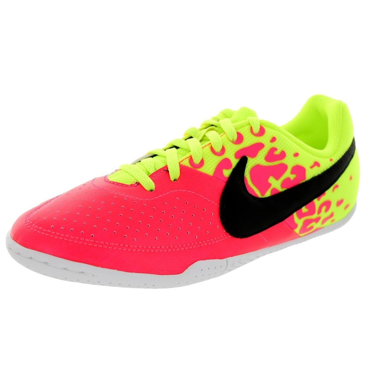 5b99cb8c393 Amazon.com  Nike Kids Jr Elastico II Hyper Punch Black Volt White Indoor  Soccer Shoe 4.5 Kids US  Sports   Outdoors