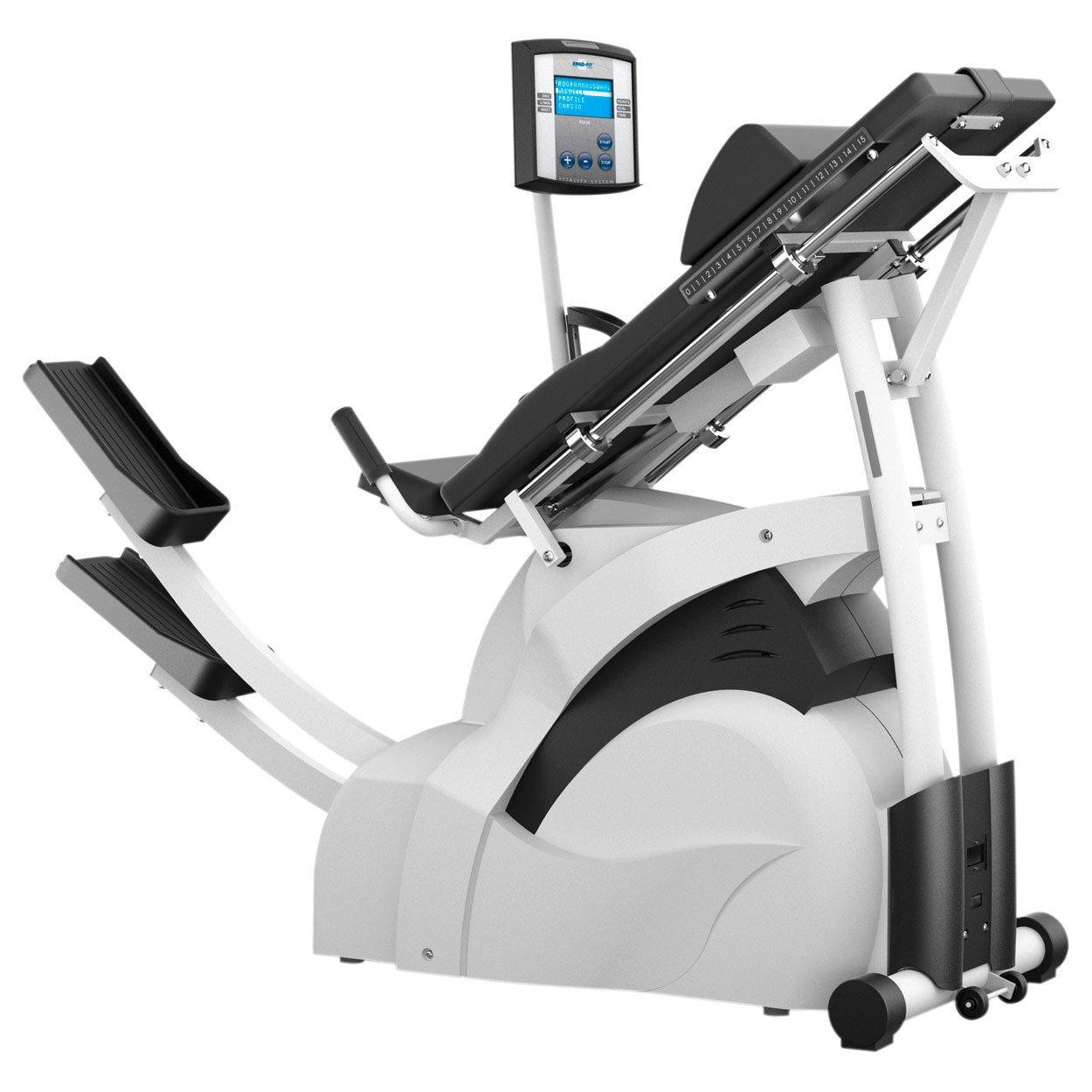 ERGO-FIT Mix 4000 Professioneller Ellipsentrainer Stepper für Fitness Studio