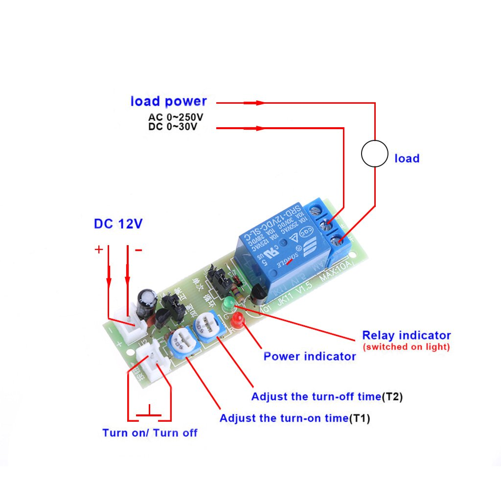 Magnificent Time Delay Relay Wiring Diagram Basic Electronics Wiring Diagram Wiring Database Wedabyuccorg