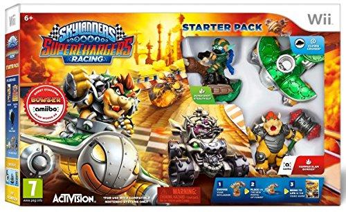 49 opinioni per Skylanders SuperChargers Starter Pack (Wii)