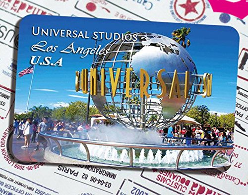 (The tourist souvenir Magnetic fridge magnet universal studios Hollywood in Los Angeles USA)