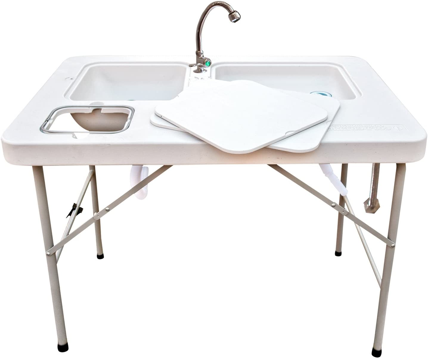 Coldcreek Outfitters Outdoor Washing Table, Faucet and Sink