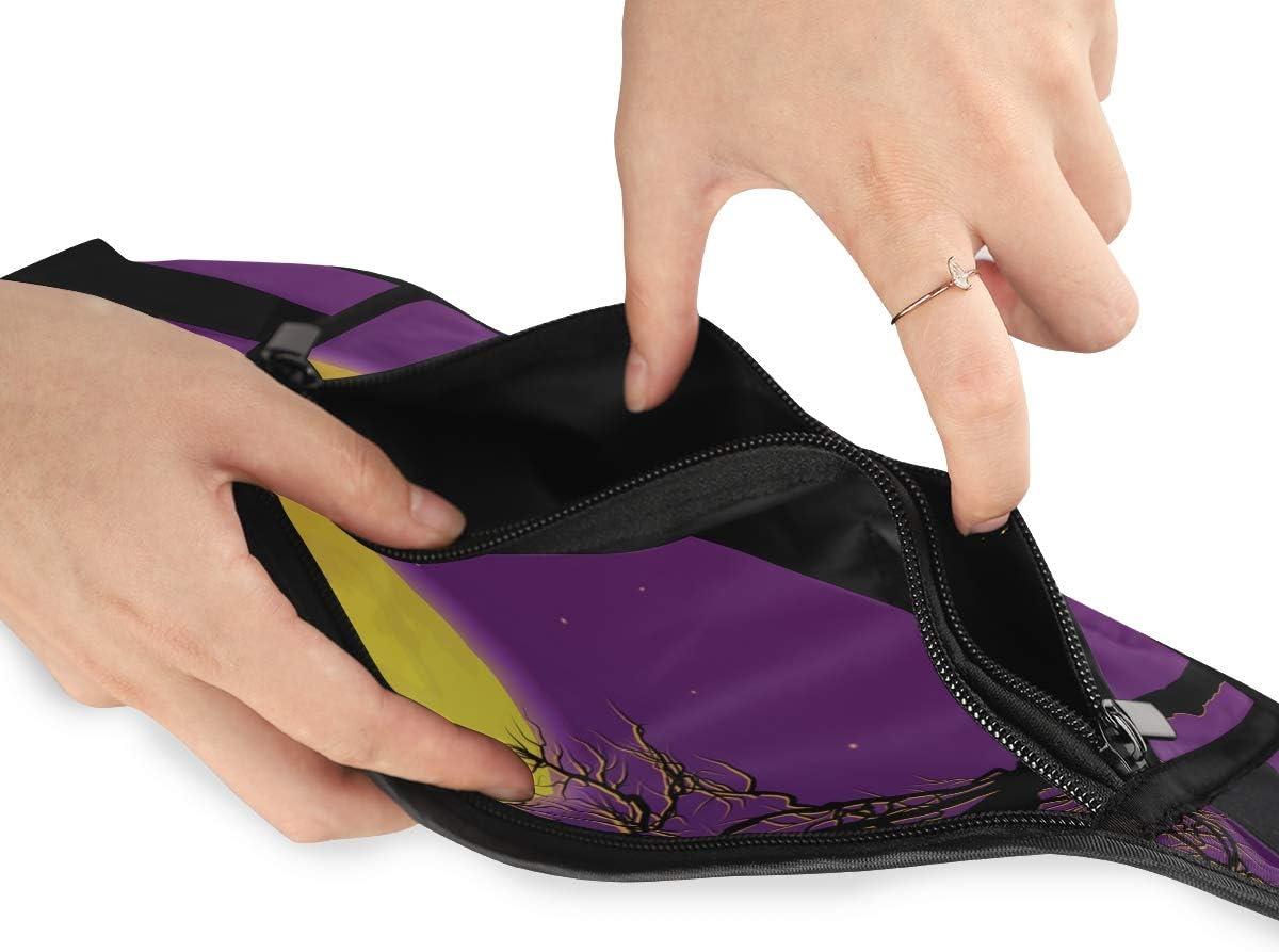 Halloween Running Lumbar Pack For Travel Outdoor Sports Walking Travel Waist Pack,travel Pocket With Adjustable Belt