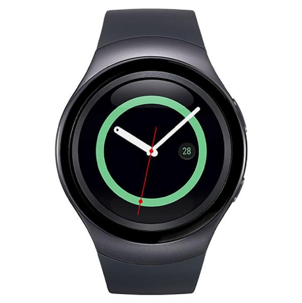 Sannysis para Samsung Gear S2 SM-R720, Reloj Marco de Metal, Watch Metal Frame