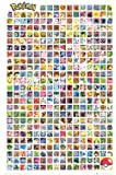 POKEMON POSTER Amazing Cast Collage RARE HOT NEW 24X36