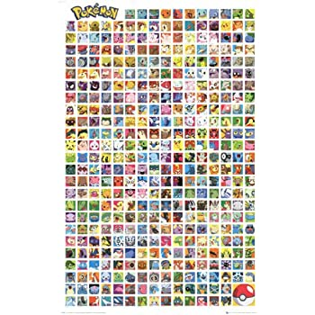 amazon com pokemon pokedex poster print 13x19 posters prints