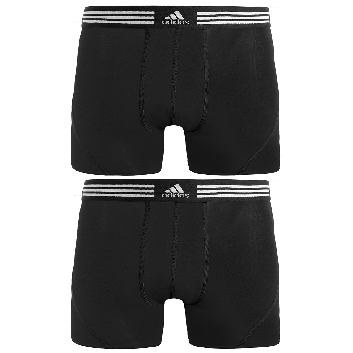 Amazon.com: adidas Men's Athletic Stretch Cotton Trunk Underwear (2-Pack):  Sports & Outdoors