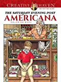 img - for Creative Haven The Saturday Evening Post Americana Coloring Book (Adult Coloring) book / textbook / text book