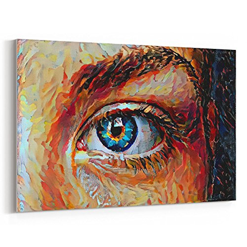 Westlake Art - Eye Art - 12x18 Canvas Print Wall Art - Canva