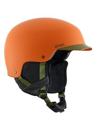 Anon Blitz – Casco de snowboard para hombre, Naranja, S
