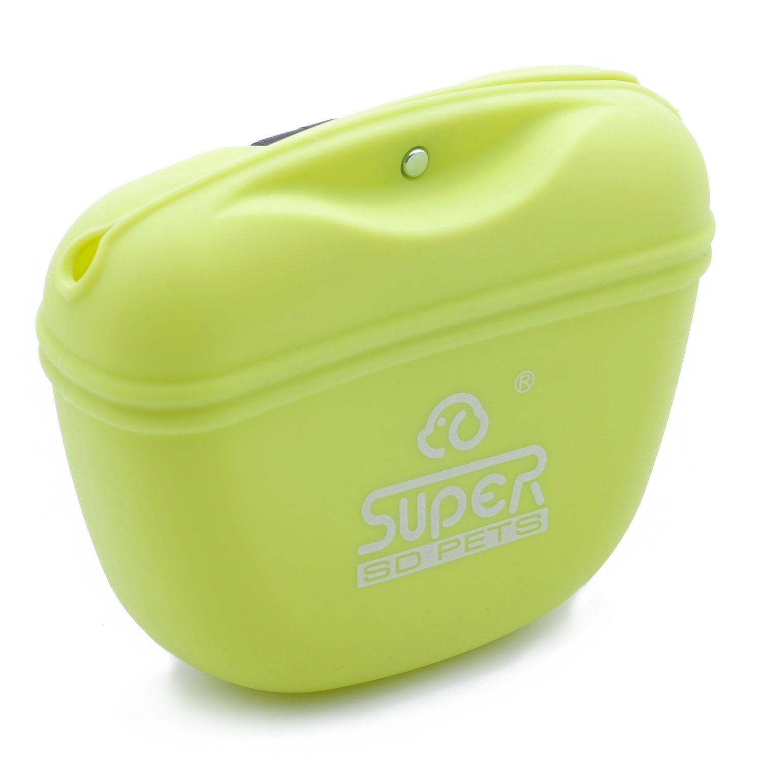SuperDesign Silicone for Pets Pooch Pouch M Green