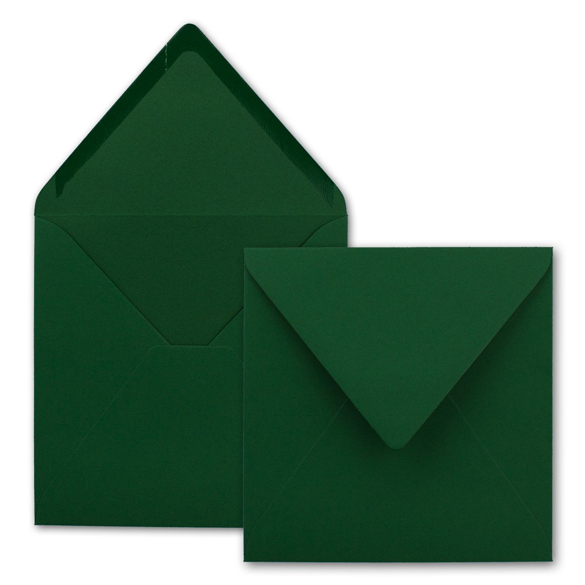 Quadratische Brief-Umschläge - Farbe Hochweiss   150 Stück     155 x 155 mm   Nassklebung   Für Einladungen & Hochzeit    Serie FarbenFroh® B00J9H9DZS   Hohe Qualität  de049a