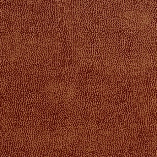 G552 Saddle Brown Upholstery Grade Recycled Leather (Bonded Leather) by The Yard -