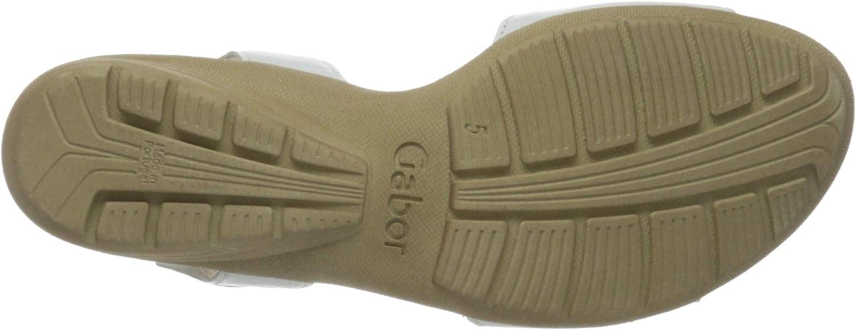 Gabor Gabor Casual dames sandalen met riempjes wit, wit, 21
