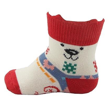 Little Grippers oso polar calcetines de bebé con la estancia en tecnología POLAR BEAR Talla:
