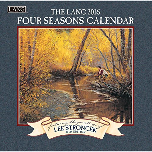 Lang Four Seasons 2016 Mini Wall Calendar by Lee Stroncek, January 2016 to December 2016, 7 x 14 Inches (1079240)