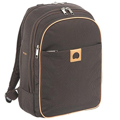Delsey Montholon zaino 41 cm compartimenti portatile marrone
