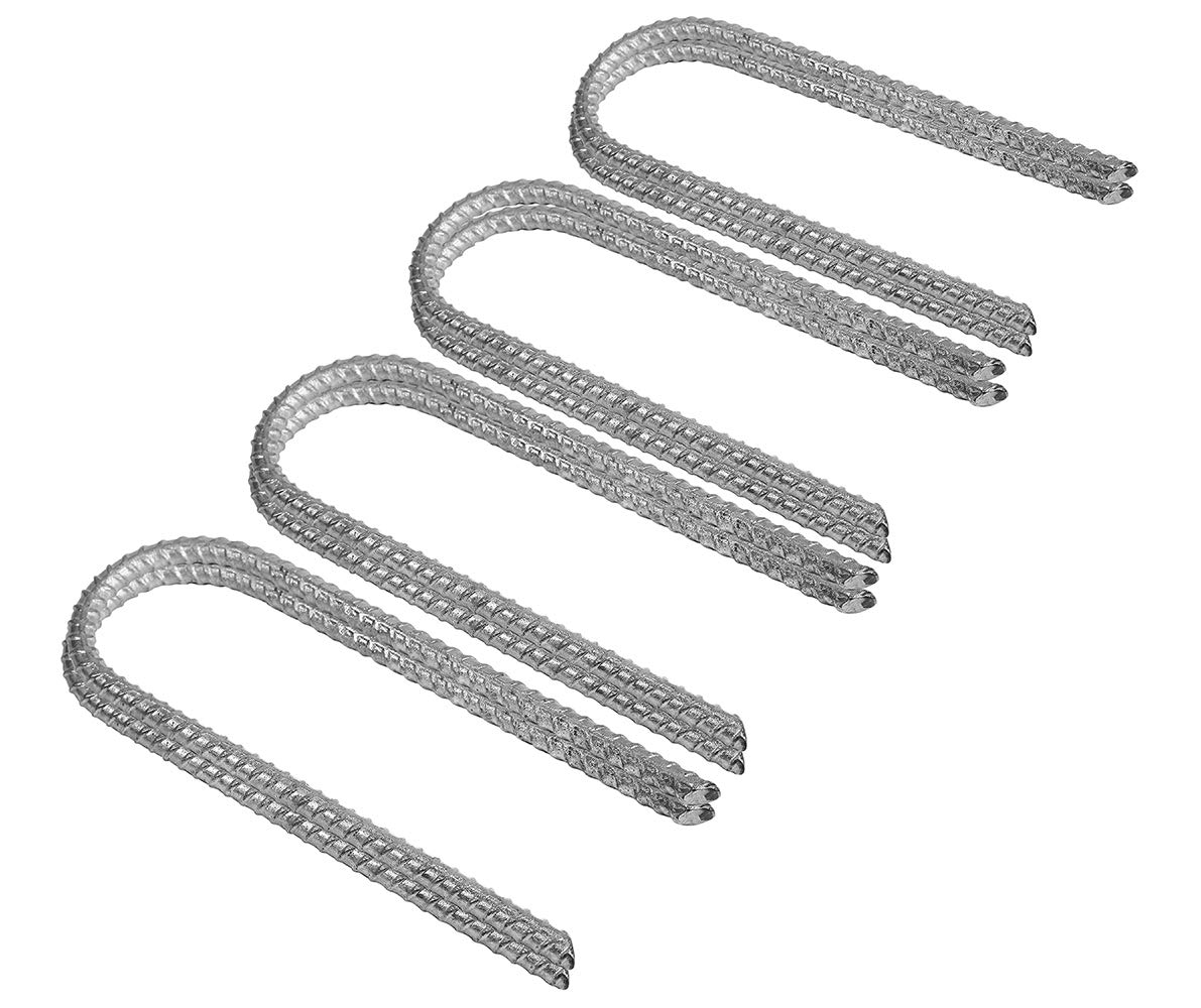Pinnacle Mercantile 8 Trampoline Wind Stakes Anchors Extra Heavy Duty Galvanized 12 Inch by Pinnacle Mercantile
