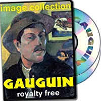 Gauguin, Over 100 High Resolution Digital Images, Royalty Free Collection DVD