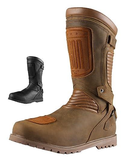 8e48c5e018c Amazon.com: Icon 1000 Prep Waterproof Boot (8, Stealth): Automotive