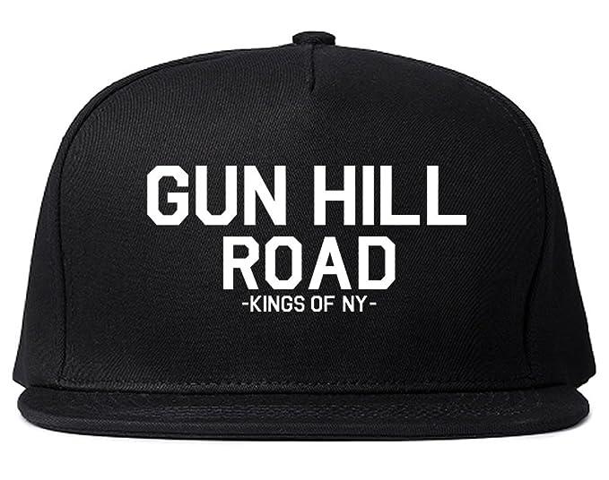 a3744c752eb Amazon.com  Kings Of NY Gun HIll Road The Bronx Snapback Hat Black ...
