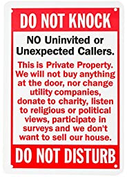 WALI Aluminum Sign for Home Business Security, Legend \