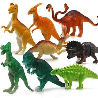 GIKMHYB Regalo del Ragazzo del Mondo del Modello di Simulazione del Giocattolo del Dinosauro del Bambino,A