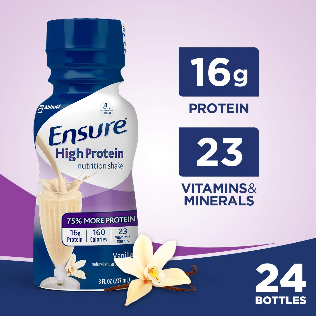 86a49eb2bf92e Ensure High Protein Nutrition Shake with 16g of high-quality protein