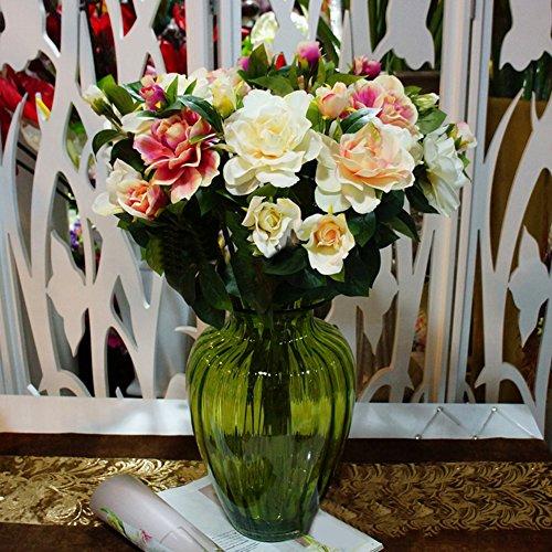 BYyushop-1Pc-3-Heads-Fashion-Artificial-Gardenia-Flower-Wedding-Party-Bouquet-Home-Decor-Milk-White
