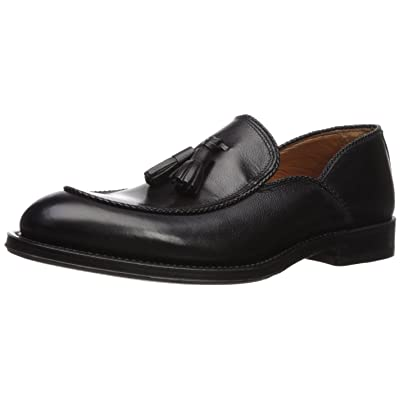 Aquatalia Men's VIGO Textured Dress Calf Loafer, Black, 11.5M M US | Loafers & Slip-Ons