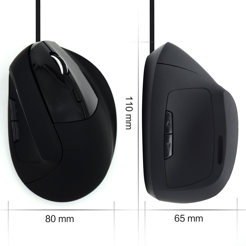 Ewent Ew3157 - Ratón (Mano Derecha, Óptico, USB, 1800 dpi, Negro): Amazon.es: Informática