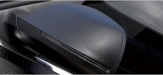 Hoho Vinyl Aufkleber Aus Schwarzem Leder Mit Ledermuster Pvc Selbstklebend 152 X 50 Cm Auto