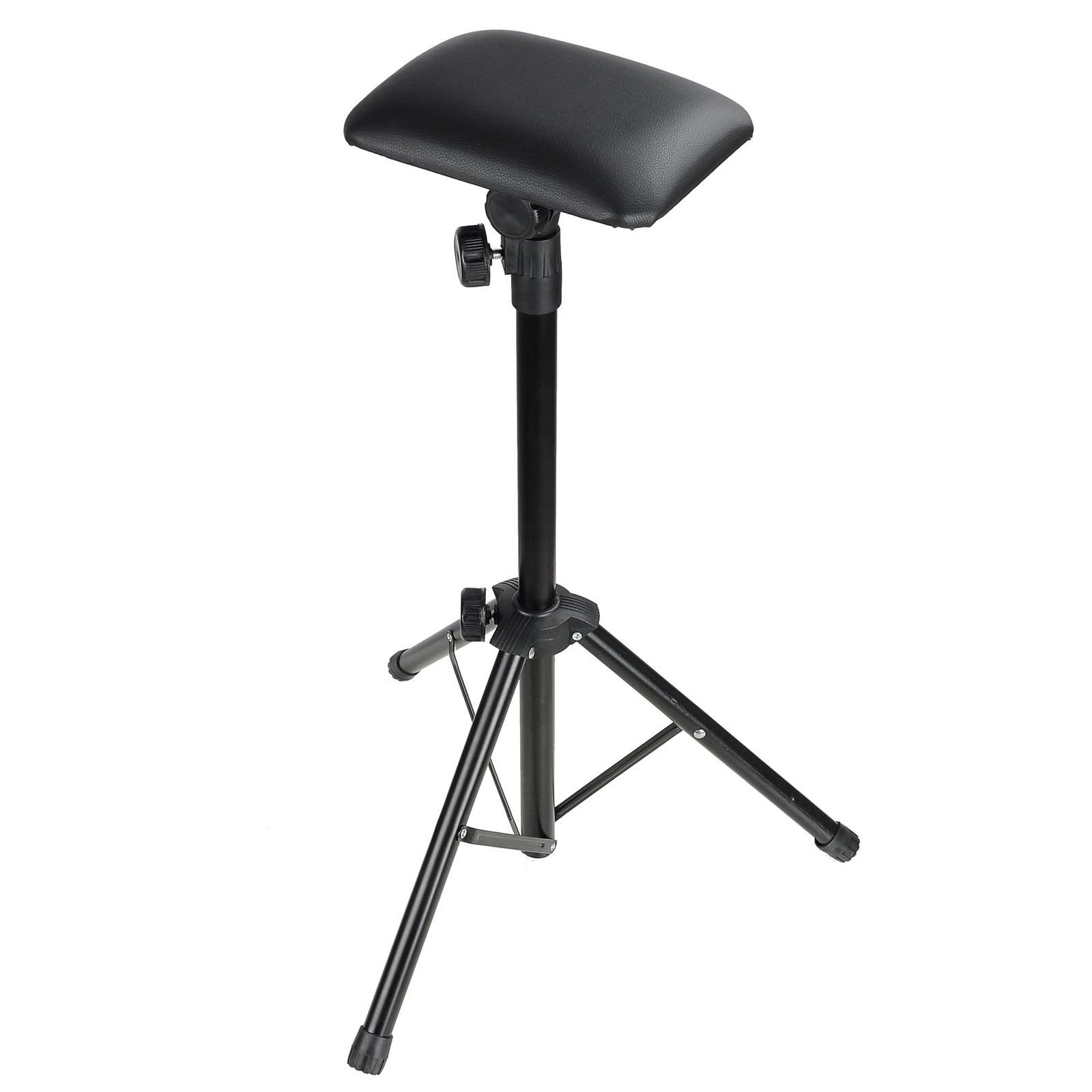 AW Tattoo Armrest Foldable Foam Pad Arm Bar Leg Rest Studio Stand Adjustable Height PVC Leather by AW