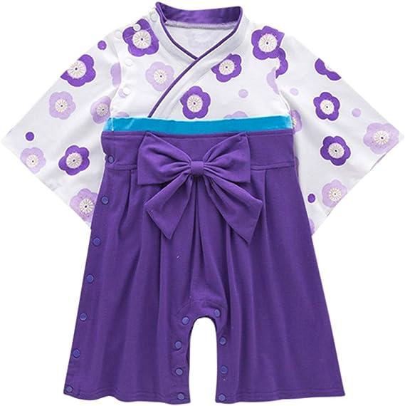 Jorich Kimono para Bebé Recién Nacido Ropa De Dormir Bata Manga ...