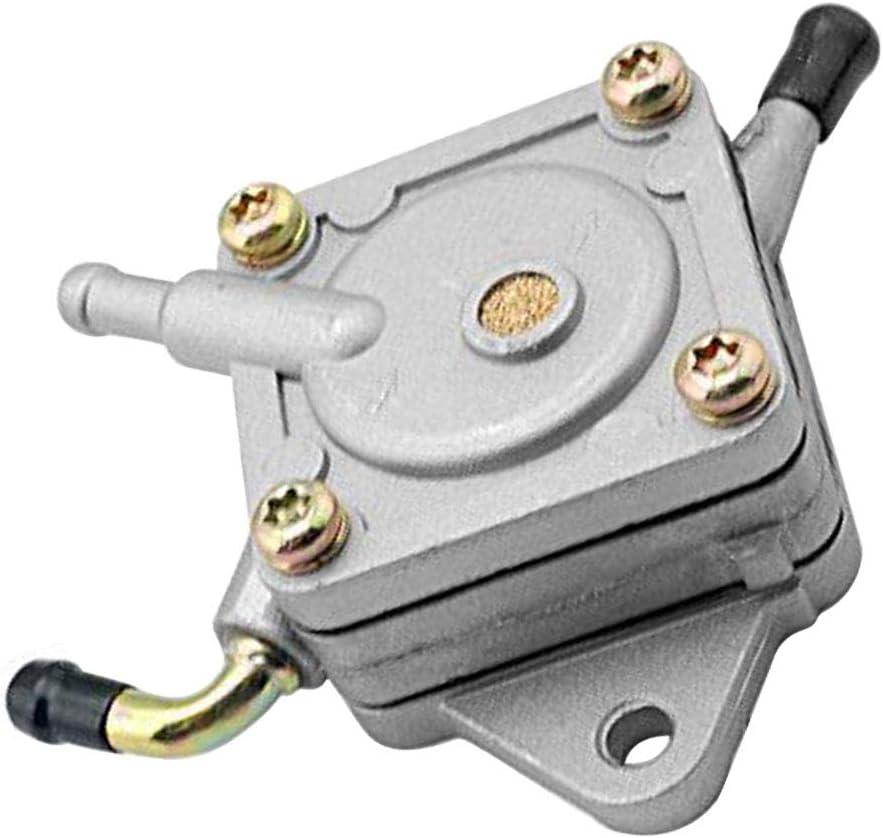 SaferCCTV Fuel Pump Compatible with John Deere 112L 130 160 165 175 180 185 LX172 LX176 LX186 AMT600 AMT622 AMT626 Replacement AM109212 AM106164 AM101074
