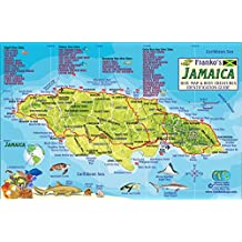 Amazoncom Jamaica Caribbean Books - Jamaica On Us Map