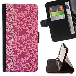 For Motorola Moto E ( 1st Generation ) Case , Pink Tone Sutil Alegría Pequeño modelo- la tarjeta de Crédito Slots PU Funda de cuero Monedero caso cubierta de piel